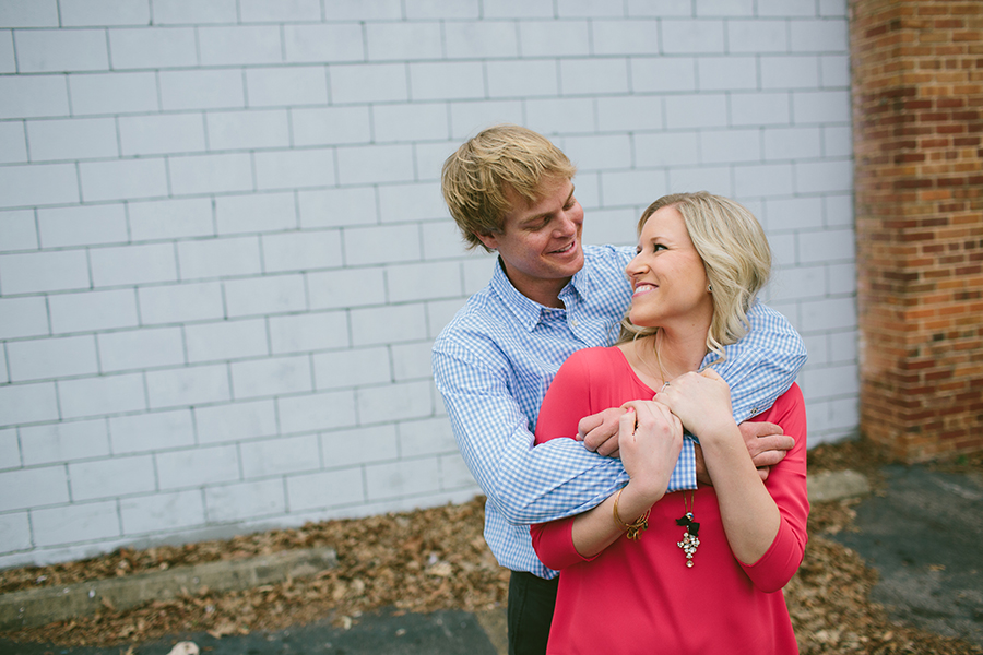 Raleigh Engagement Photo